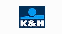 K&H biztosító logó