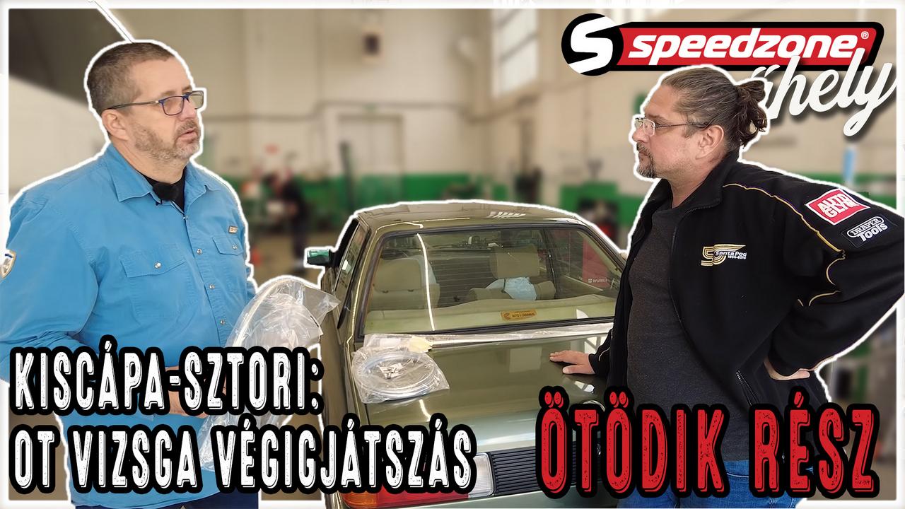 SpeedZone Kiscápa-sztori